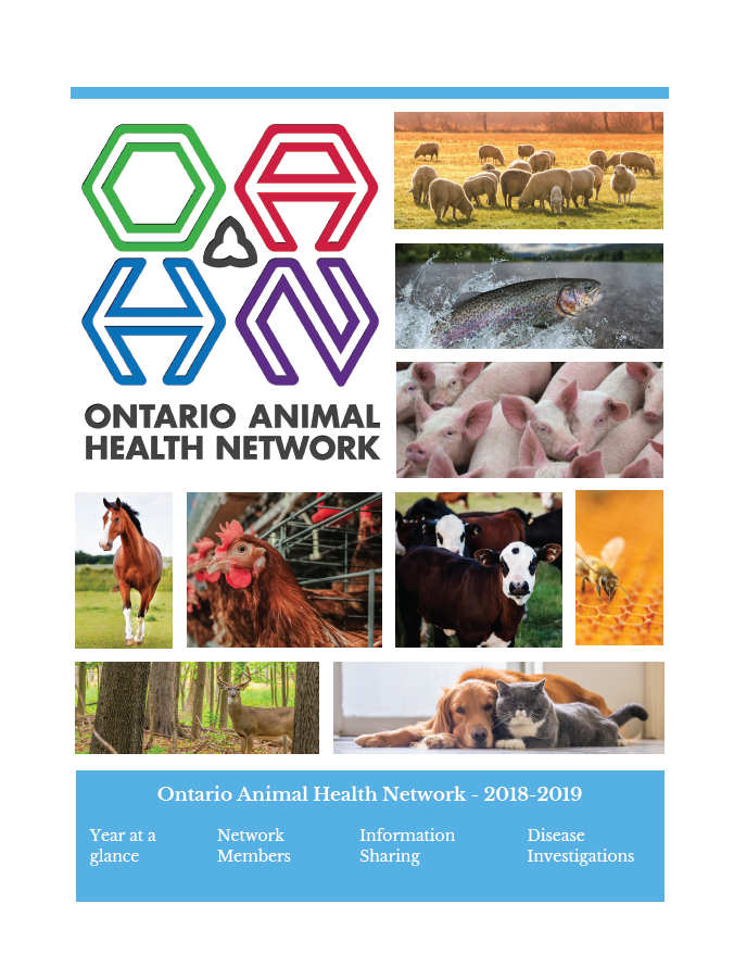 Ontario Animal Health Network Annual Update