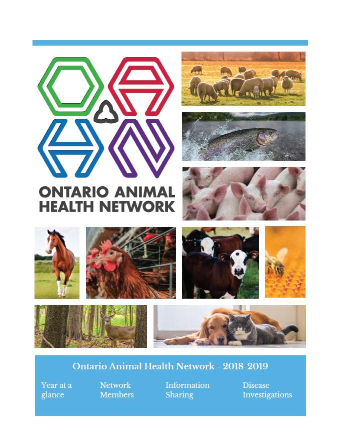 Ontario Animal Health Network Annual Update